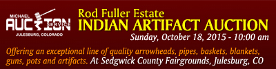 Fuller Indian Artifact Auction